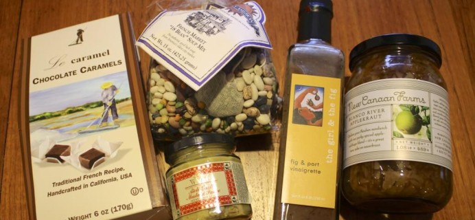 February Taste Trunk Review – Gourmet Box