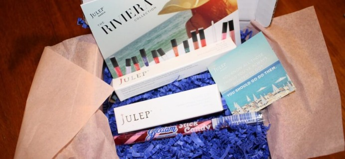 March 2014 Julep Maven Review – The Riviera Collection + Free Box Coupon