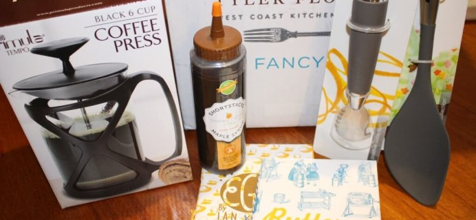February Tyler Florence Fancy Box Review – Food & Cooking Subscription Box