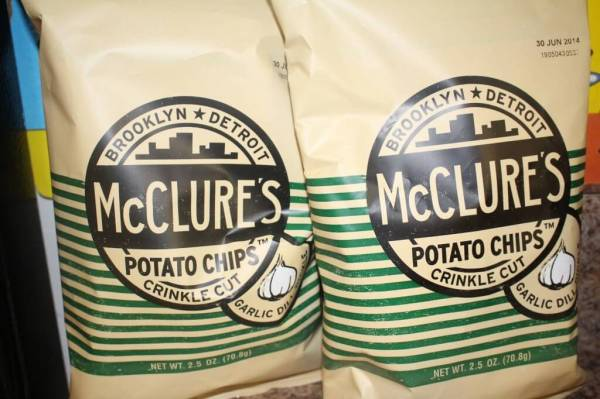 McClure's Potato Chips