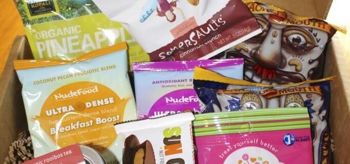 Blissmo Bites February (?) Subscription Box Review: Love & Snacks