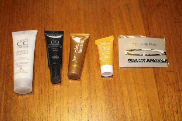 March 2014 Beauty Bar Sample Society - Kit J