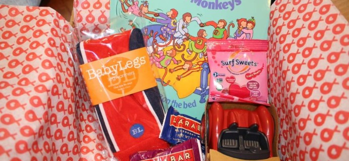 March 2014 Stork Stack Review – Baby Subscription Box