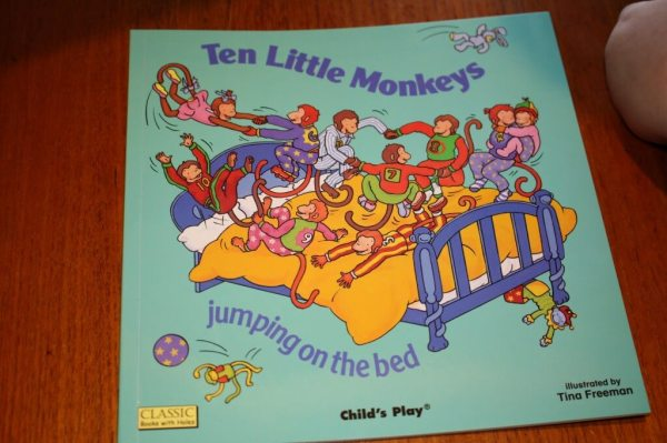 Child's Play Ten Little Monkeys