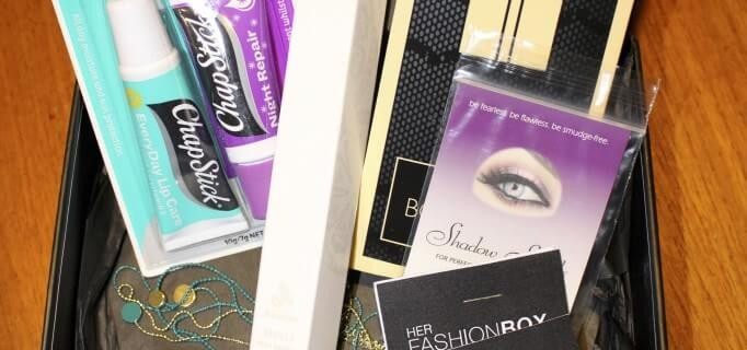 Her Fashion Box Review + Coupon – February 2014