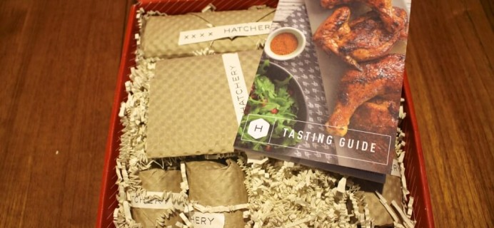 Hatchery Box Review – March 2014 – Gourmet Tasting Box
