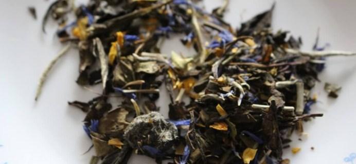 Tea Sparrow Subscription Box Review + Coupon- March 2014