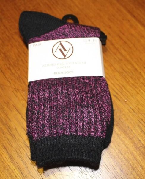 Adrienne Vittadini Boot Sock