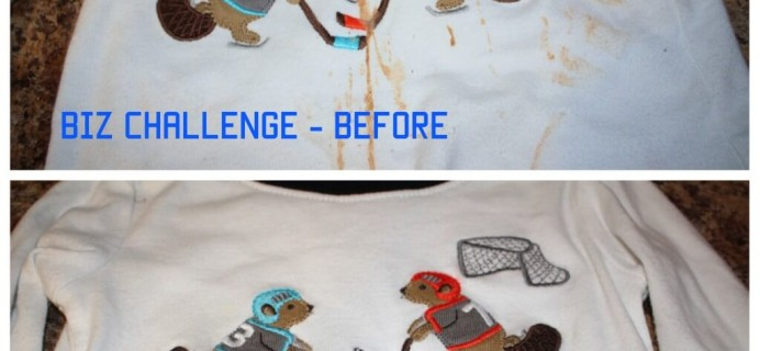I took the #BizChallenge and Won! Plus One Genius Laundry Solution.
