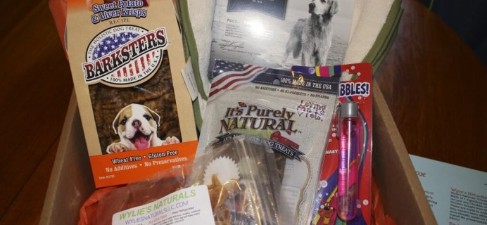 April Bugsy's Box Review + Coupon – Dog Subscription Box