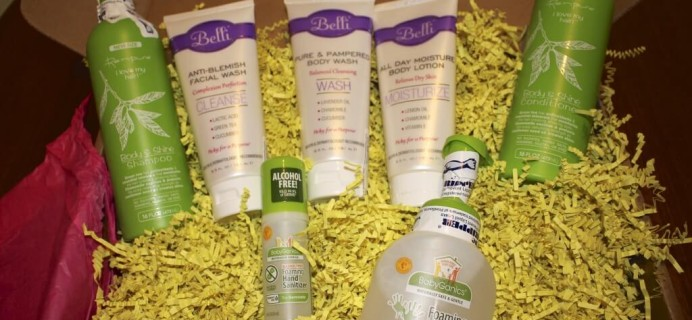 Bump Boxes Pregnancy Gift Box Review – Be Clean! Box