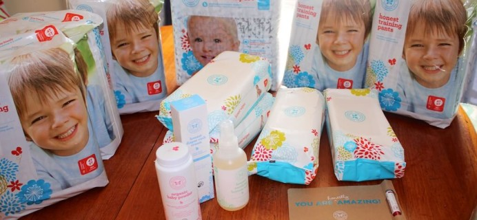 Honest Company Diaper Bundle Review! Plus New Diapering Products and Coupon!