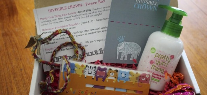 April/May 2014 iBbeautiful Teen & Tween Subscription Box Review