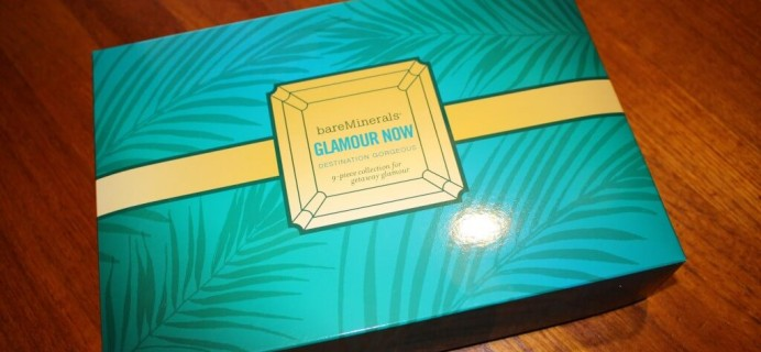 bareMinerals Glamour Now: Destination Gorgeous Review (2013 TSV Autodelivery)