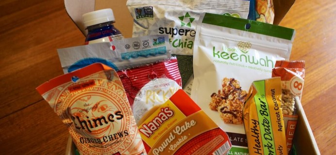 May Urthbox Review – Classic Version – Healthy Food Subscription Box
