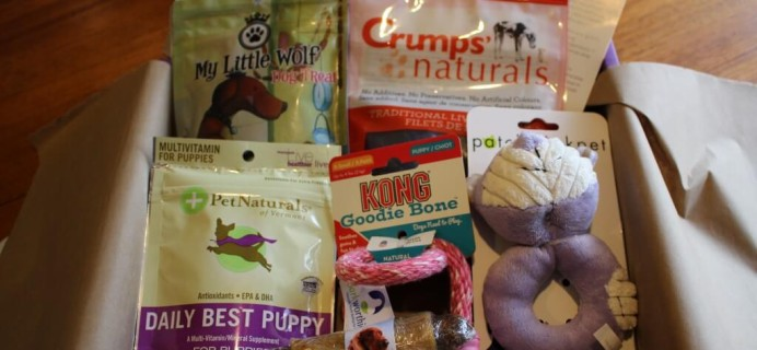 PupBox Review & Coupon – New Subscription Box for Puppies!