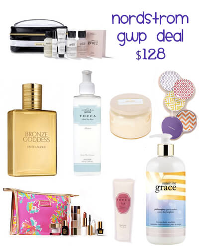nordstrom gift with purchase stacking deal