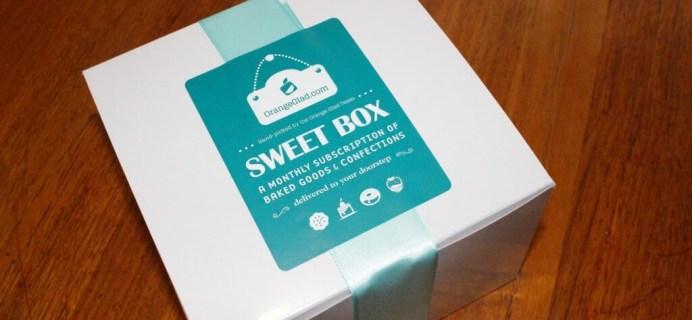June 2014 Orange Glad Review & Coupon – Sweets & Desserts Subscription Box