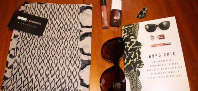 June Socialbliss Style Box Review #TheStyleBox #FatedBliss