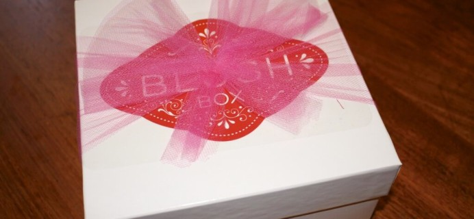June BlushBox Teaser Box Review – Adult Subscription Box #sexytime