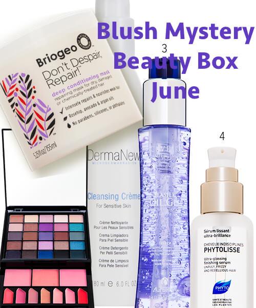 blush mystery beauty box june