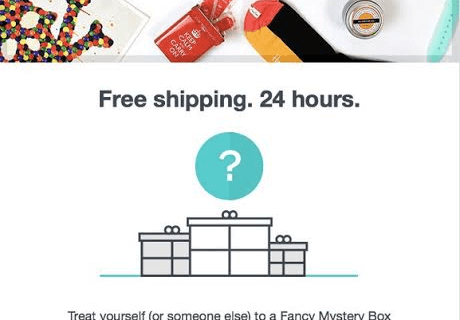 Mystery Fancy Box Coupon – 24 hours of Free Shipping! – Code active!!! Again!!!
