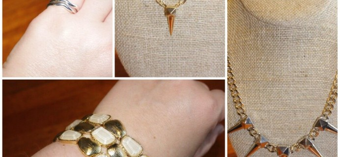 June 2014 Wantable Accessories & Jewelry Subscription Box Review