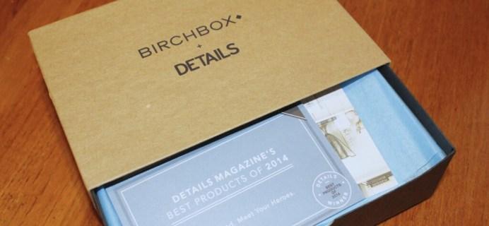 July 2014 Birchbox Man Review & Coupon