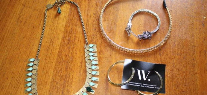 July 2014 Wantable Accessories & Jewelry Subscription Box Review