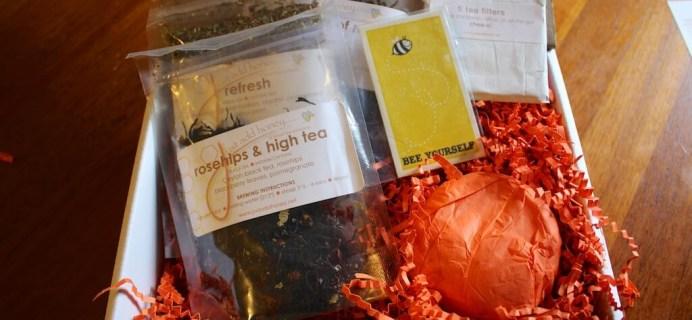 Just Add Honey Tea Box Review – June 2014