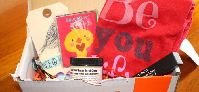 June/July 2014 iBbeautiful Teen & Tween Subscription Box Review