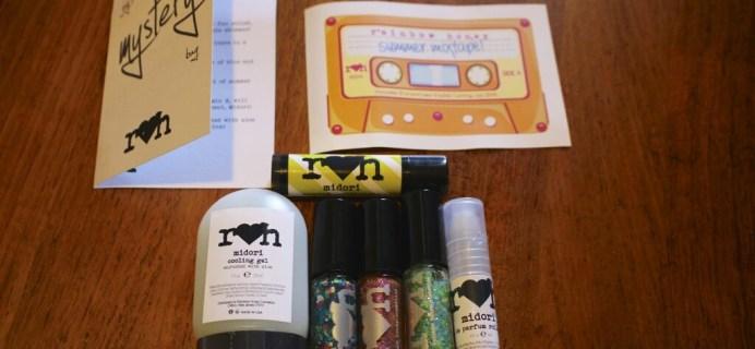 July 2014 Rainbow Honey Nail Polish Mystery Bag Review