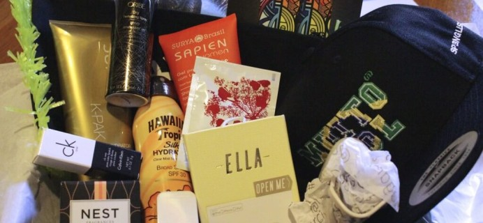 Nina Garcia #NGQ03 Quarterly Subscription Box Review – July 2014 Summer