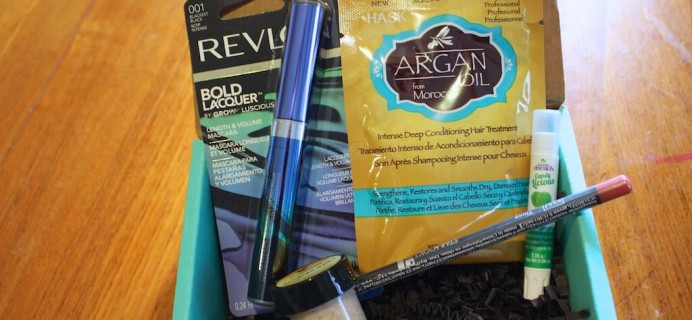 July 2014 Beauty Box 5 Mini Review & Half Off Coupon