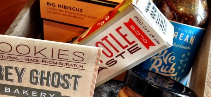 Mantry Review & $25 Coupon – Men's Gourmet Foodie Subscription Box #mantry