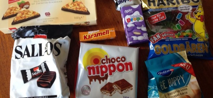 Candy German Subscription Box Review – August 2014