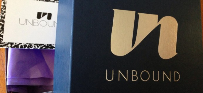 """Fall 2014 Unbound Box Review + Coupon – Back to School for """"Erotic Education"""""""