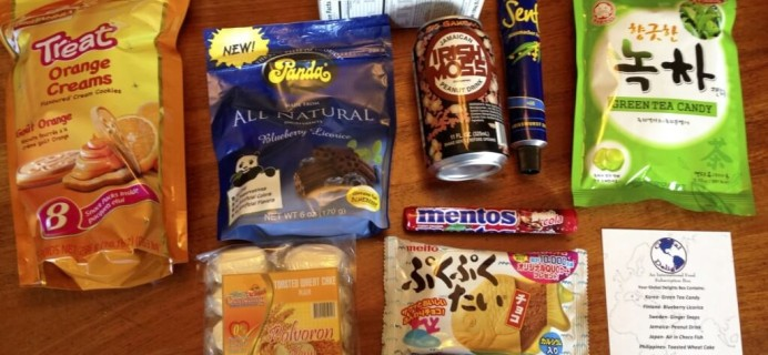 Global Delights Review – International Food Subscription Box – September 2014