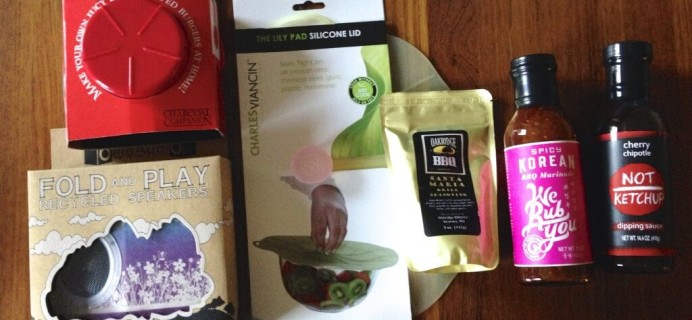 September 2014 Hamptons Lane Subscription Box Review & Coupon – Tailgate Party!