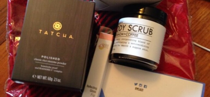 My Subscription Addiction #MSA01 Quarterly Subscription Box Review – Fall 2014 September