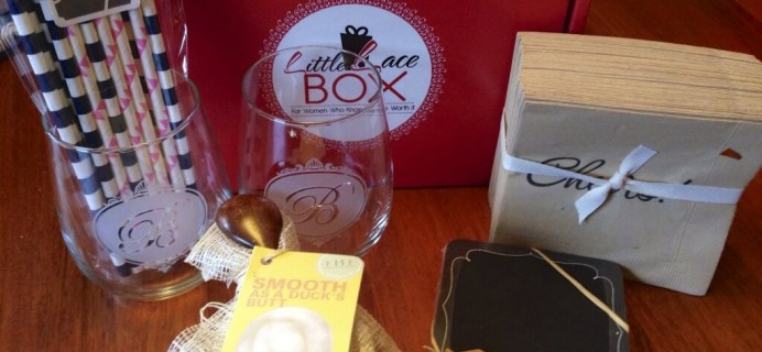 September Little Lace Box Subscription Box Review & $10 Coupon + October Spoilers!