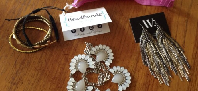 October 2014 Wantable Accessories & Jewelry Subscription Box Review