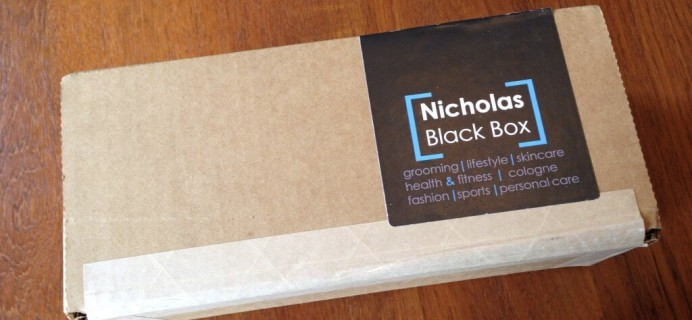 November 2014 Nicholas Black Box Review – Men's Subscription Box