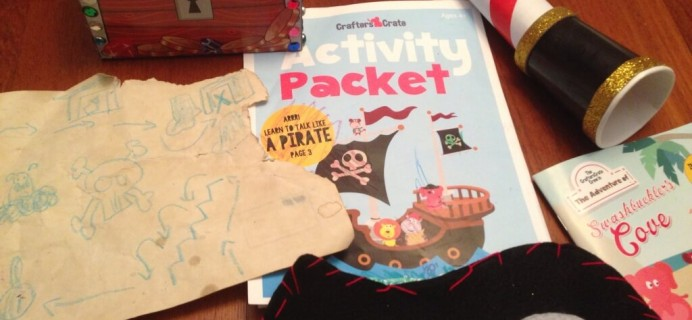 Crafters Crate Box Revamp & Review – October 2014 + Coupon
