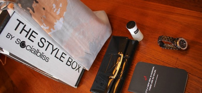 October Socialbliss Style Box Review #TheStyleBox