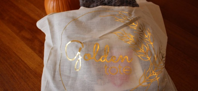 October 2014 Golden Tote Review Part 2!
