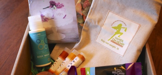 October 2014 #KloverBox Review – Green & Eco-Friendly Subscription Box