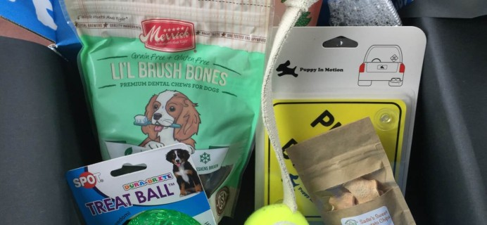 December 2014 PetBox Subscription Review & Coupon!