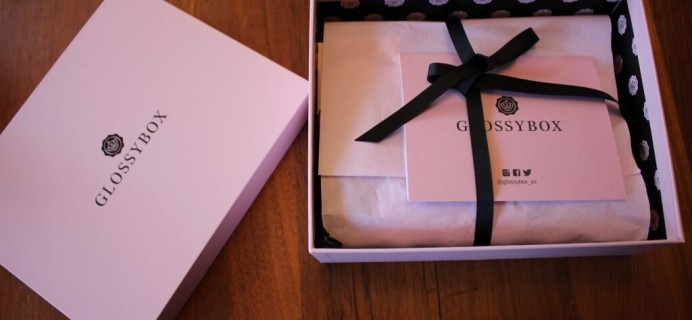 October 2014 Glossybox Review & FREE Alex+Ani Bangle Coupon! plus November Glossybox Spoilers