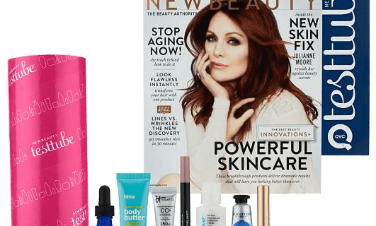 Fall QVC New Beauty Test Tube
